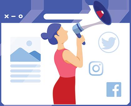 Bookworm Social Media Engagement