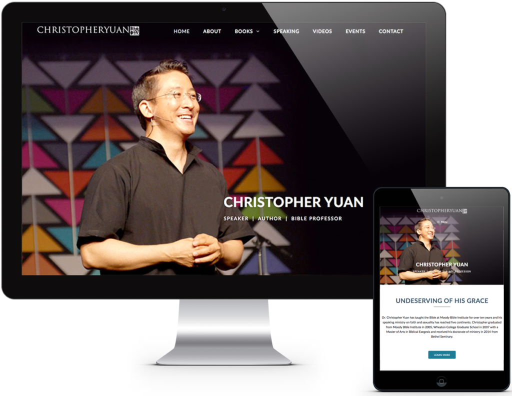 Christopher Yuan Website