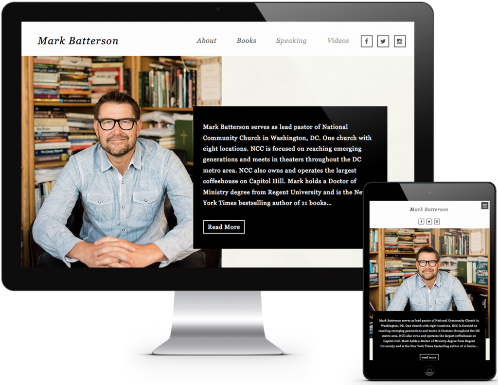 Mark Batterson Website
